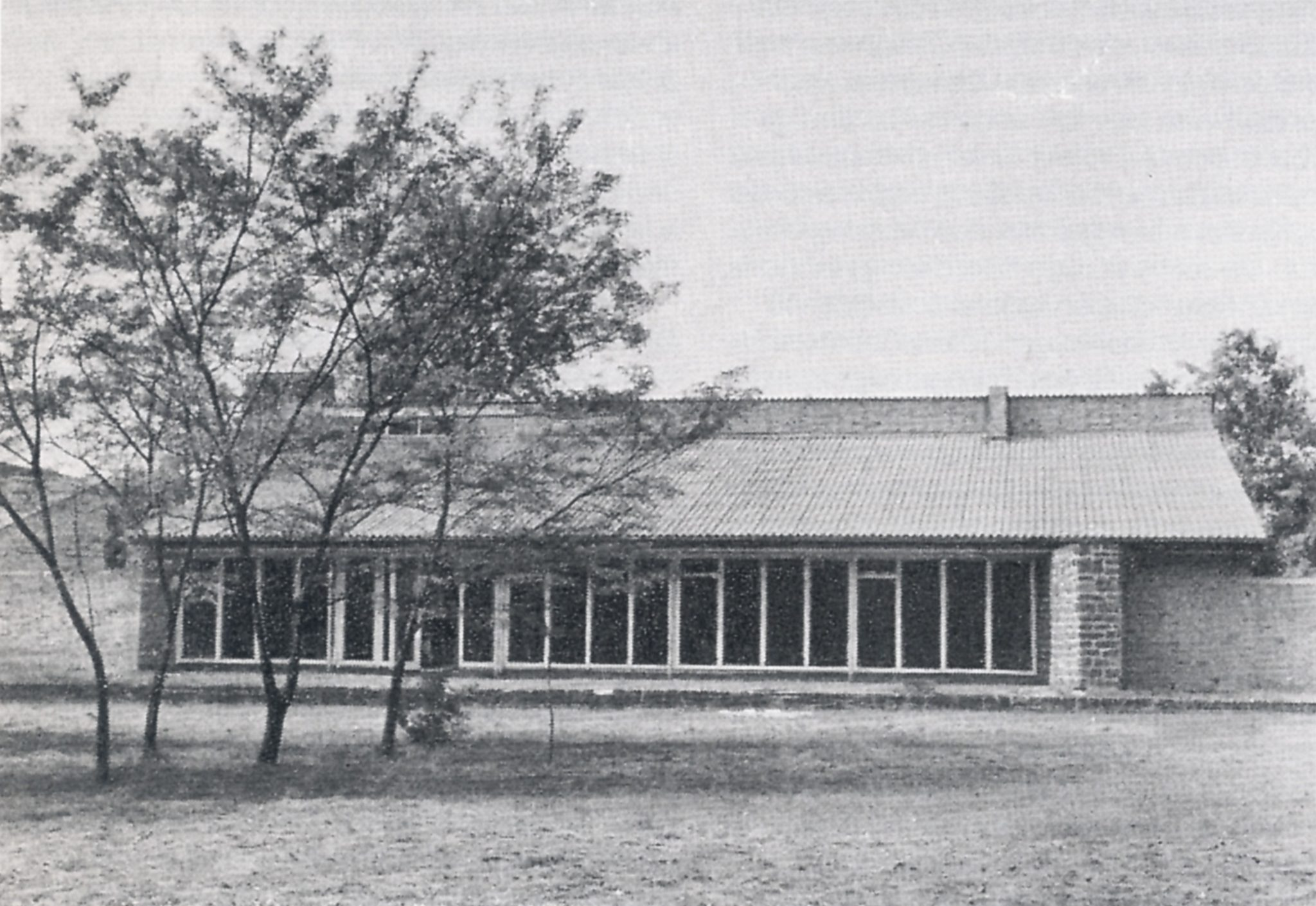 Clubhaus des Internationalen Studentenheims Eichkamp, 1949/49